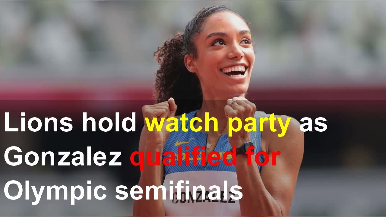 Lions Hold Watch Party as Melissa Gonzalez Qualified for Olympic ...