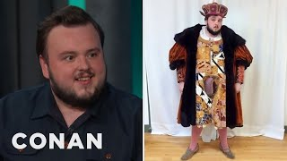 "John Bradley Got Pranked By ""Game Of Thrones"" Producers  - CONAN on TBS"