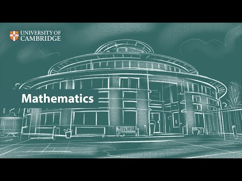 Mathematics at Cambridge