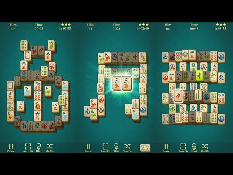 Mahjong Solitaire: Classic Android Gameplay