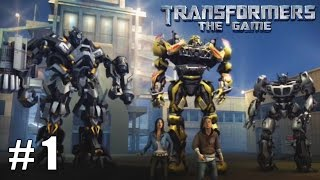 Transformers: The Game - Xbox 360 / Ps3 Gameplay Playthrough Autobot Campaign PART 1