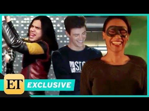 The Flash Cast Can't Stop Laughing in Season 4 Bloopers (Exclusive)
