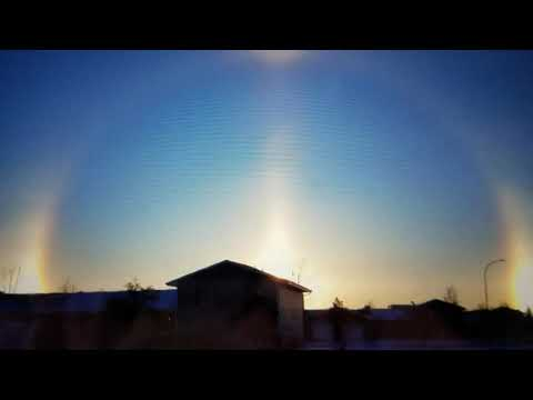 "Breaking ""Apocalyptic Sundog Christmas North Dakota"""
