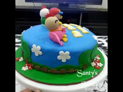 fondant cake didi n friends