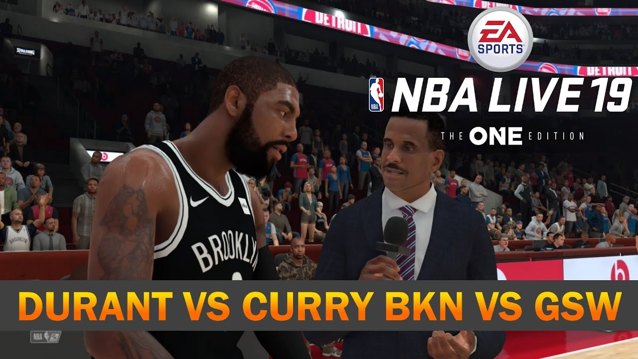 Nets vs Warriors | NBA Live 19 | 2020 Rosters - YouTube