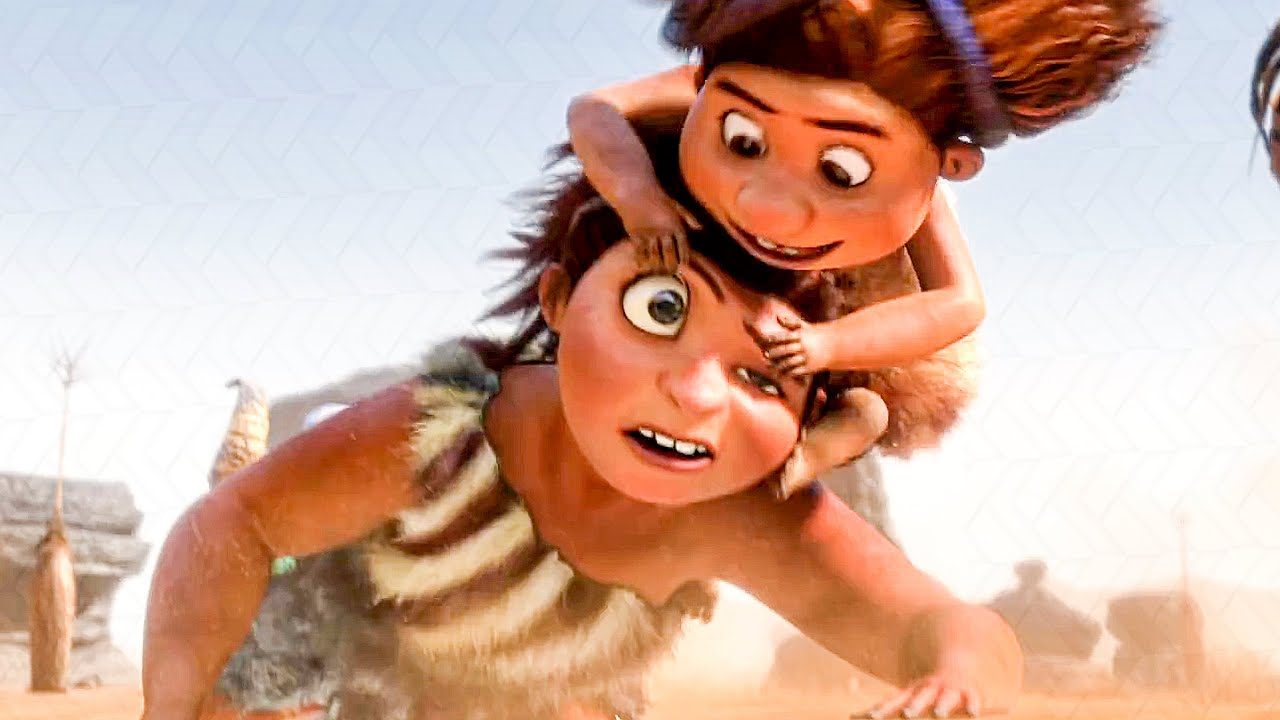 Download Hunting For Breakfast Opening Scene - THE CROODS (2013) Movie Clip