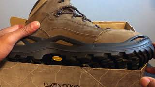 LOWA Renegade GTX Hiking Boots Unboxing