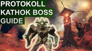 Destiny 2: Eskalationsprotokoll Boss Guide: KATHOK, Getöse des Xol (Deutsch/German)
