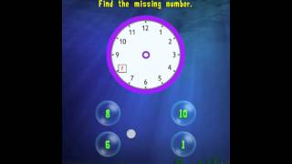 Tell The Time : 1st Grade Splash Math Worksheets App