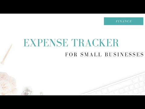 expense tracker for small businesses using google sheets youtube