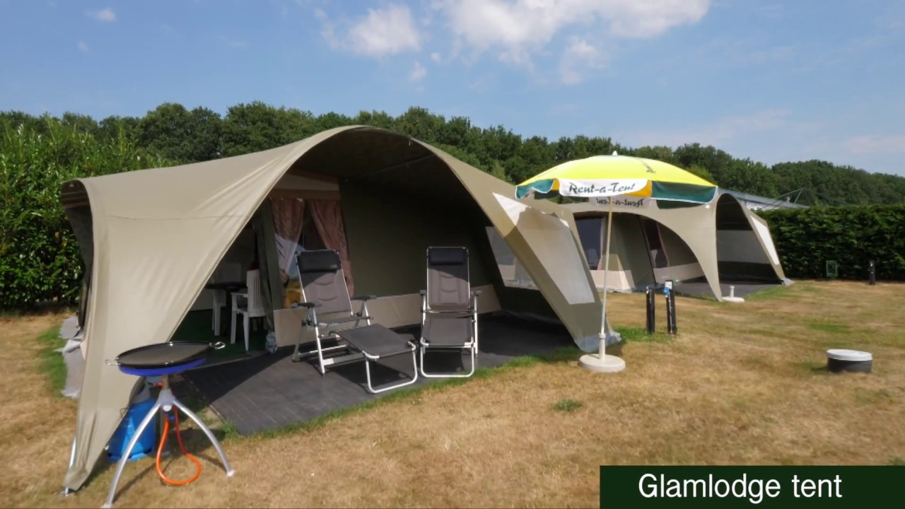 Camping de Molenhof Bungalowtent of GlamLodge tent huren