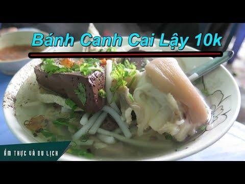 Quán bánh canh gần 50 năm giá 10k nổi tiếng Cai Lậy, miền Tây
