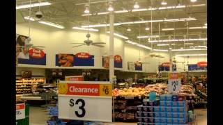 Ceiling Fans in a Walmart Produce Section circa 2008