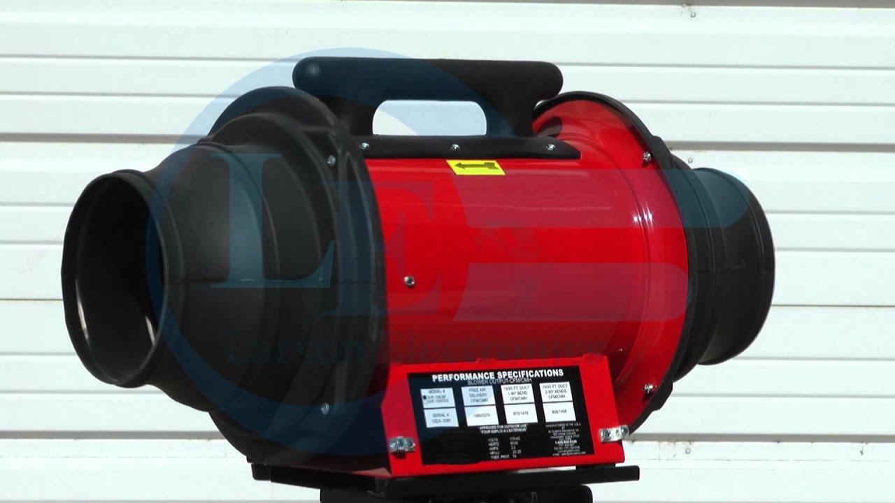 Exploion Proof Inline Blower Fan : Explosion proof electric inline axial fan class i div