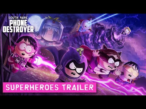 South Park: Phone Destroyer Superheroes Trailer