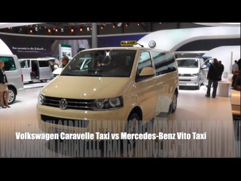 volkswagen caravelle taxi 2015 vs mercedes benz vito taxi. Black Bedroom Furniture Sets. Home Design Ideas