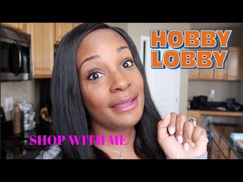 SHOP WITH ME HOBBY LOBBY HOME DECOR / HOUSE WIFE OF ATLANTA