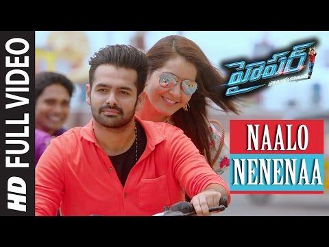 naalo-nenenaa-full-video-song-||-hyper-||-ram-pothineni,-raashi-khanna-||-telugu-songs-2016
