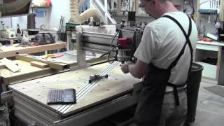 DIY CNC Router Novice - First Branding Iron Tests