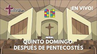 Quinto Domingo después de Pentecostés, Cristo El Salvador LCMS Del Rio, TX