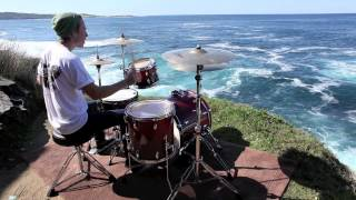 Outdoor Drum Covers - The Ghost Inside - White Light
