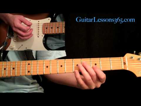 Rock This Town Guitar Lesson Pt.3 - Stray Cats - Guitar Solos