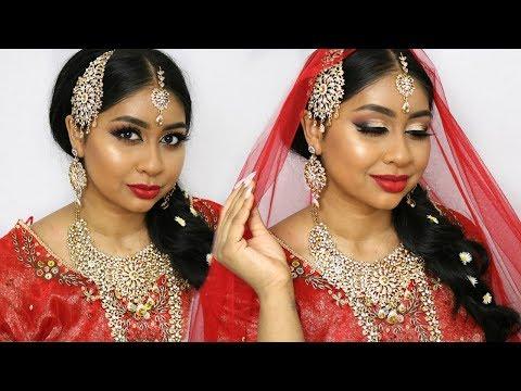 INDIAN BRIDAL WEDDING MAKEUP TUTORIAL 2018