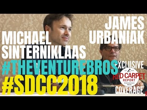SDCC The Venture Bros Roundtable s with Michael Sinterniklaas & James Urbaniak