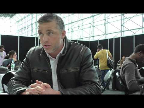 NYCC 2015:  Agent X  Jeff Hephner  James Bond or John McClane