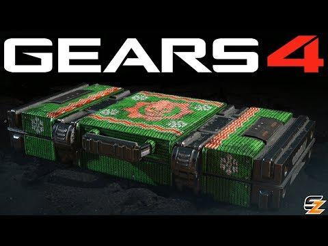 Gears of War 4 Gear Packs - Opening 25 GEARSMAS 2017 PACKS!