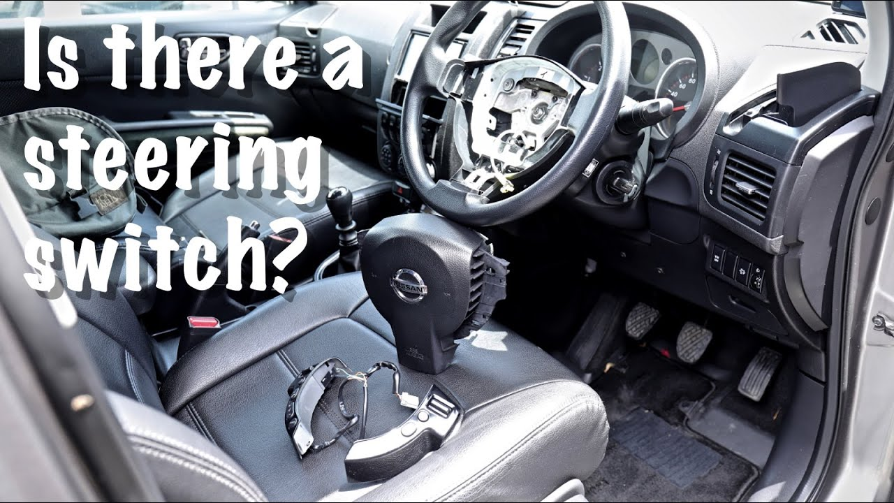 X-TRAIL T31 /Want to know how to remove the steering switch?/ステアリングスイッチの外し方