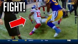 NFL Future Teammates Heated Moments || HD