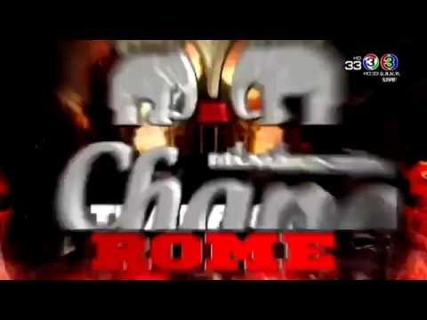 THAI FIGHT ROME 21 April 2018 Full All Fights