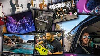 DIMEBASH / NAMM 2020 VLOG - BEHIND THE SCENES thumbnail