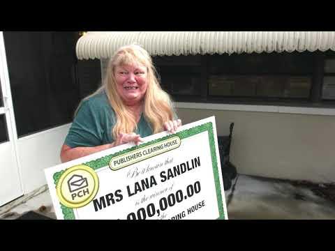 PCH Sweepstakes Winner: Lana Sandlin From Panama City, FL Wins $1,000,000.00!