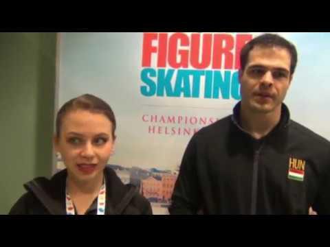 Daria Beklemisheva és Magyar Márk készül az olimpiai pótkvalifikációs versenyre
