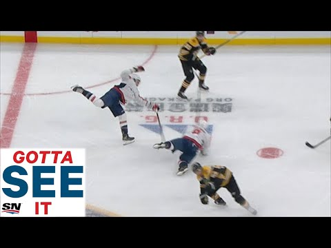 Whip - Tom Wilson lays out Ovie!