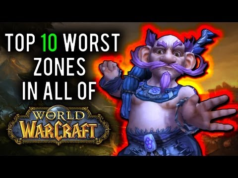 10 Worst Leveling Zones in World of Warcraft