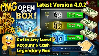 5 Cash Legendary Box Trick 😍 Any Level Account 100% Working 😲 by | POOL MASTER 8BP |