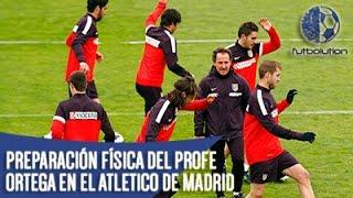 [PROFE ORTEGA] PREPARACIÓN FÍSICA DEL ATLETICO DE MADRID (Estímulos Cognitivos)
