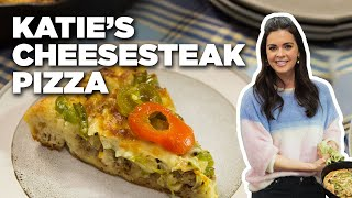 Cook a Cheesesteak Skillet Pizza with Katie Lee | Food Network