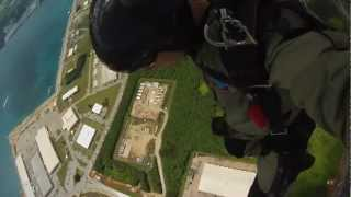 Independence Day 2012: Free-fall on Naval Base Guam