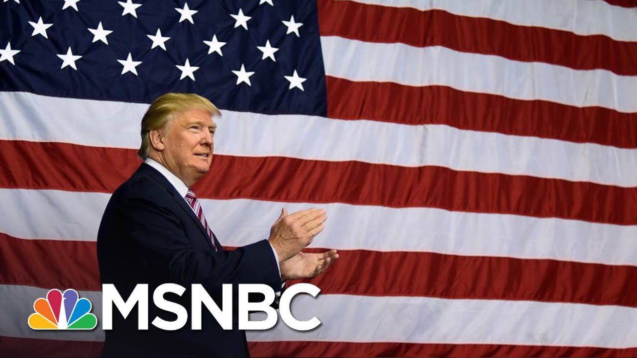There S A Big Problem With Donald Trump S Flag All In Msnbc