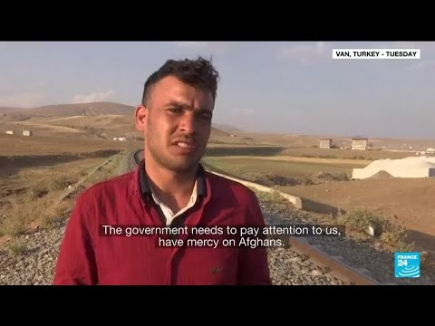 Fearing Afghan refugee influx, Turkey reinforces border • FRANCE 24 English