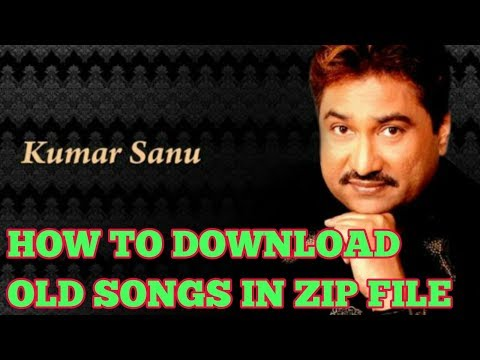 How to download old songs in zip file | all old songs in a zip