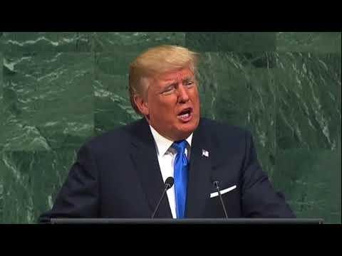 Trump to UN: Members of the UN support Terrorism