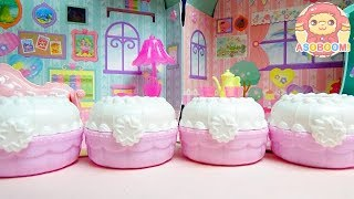 PreCure A La Mode:Locked in the sweets compact!? Sweets shop compact 2❤️Introduce 4 types compact