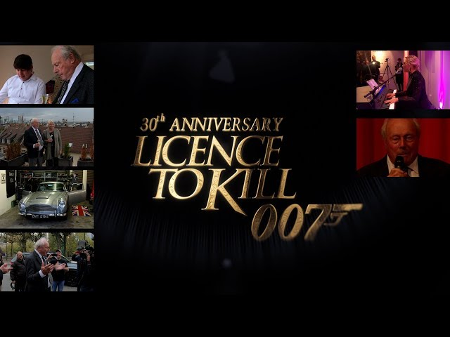 30 Years of 'LICENCE TO KILL' at German Film Museum Frankfurt [4K]