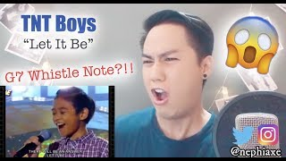 TNT Boys - Let It Be (with whistle) | REACTION