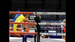 Bohdan Kopkin (Ukrainian National Team) treining and fighting